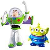 Disney Pixar Toy Story 20th Anniversary Flying Buzz Lightyear and Alien Figure Buddy 2-Pack