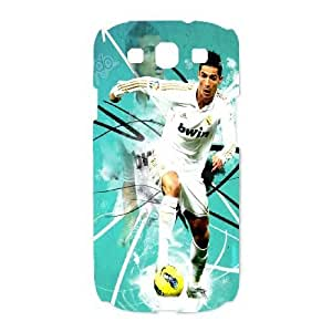 SamSung Galaxy S3 9300 phone cases White Real Madrid White cell phone cases Beautiful gifts LAYS9821132