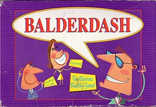 Balderdash, The Hilarious Bluffing Game (1995) (Bluffing Game)