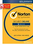 Norton Security Deluxe - 5 Devices [K...