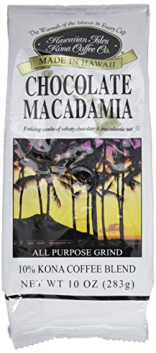 Kona Chocolate Macadamia Nut - Ground 10 oz.
