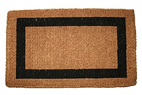 "/""BELGRAVIA/"" TRADITIONAL COIR DOORMAT DOOR MATS 24/"" X 48/"" BORDER DOOR MAT"