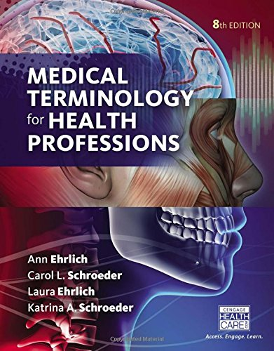1305634357 - Medical Terminology for Health Professions, Spiral bound Version