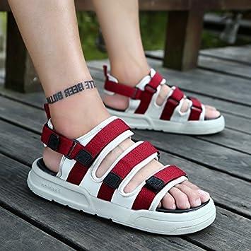 fankou rutschfeste Sommer Hausschuhe Badeschuhe Sandalen im Sommer und trendige Lounge sind cool und 40903-1...