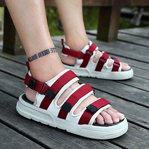 da sono e estive in che alla 903 fankou la estate sala fresco rossa 40 slittamento pantofole moda 1 spiaggia e scarpe L'anti sandali marea wqPzSAX