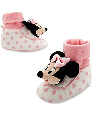 Disney Baby Minnie Mouse Plush Slippers