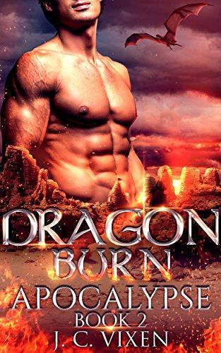 dragon burn paranormal shifter romance kindle edition by j c