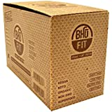 Bhu Foods - Protein Cookie, Double Dark Chocolate - 1.7oz Each - Box of 10 - Summer Bundle with Cold Pack - 2 Boxes - (Product Image May Vary Based on Manufacturer's Updates)
