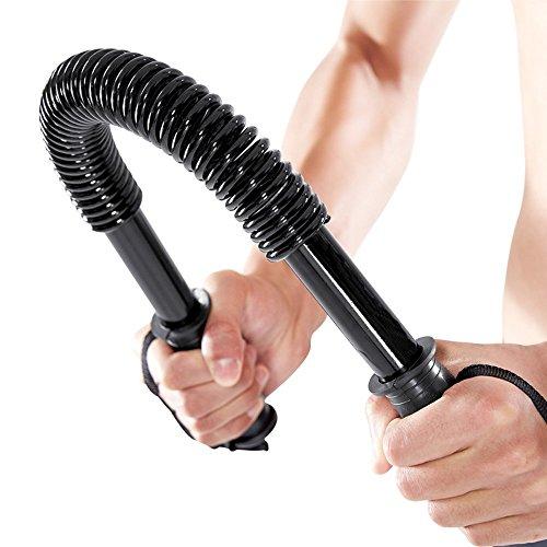 Boshen 44lbs Power Twister Bar for Chest Arm Upper Body Strength Training Heavy Duty Arm & Chest Builder