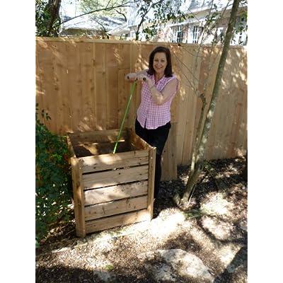 Exaco ECO Spyro Compost Mixing Tool : Composting Bins : Garden & Outdoor