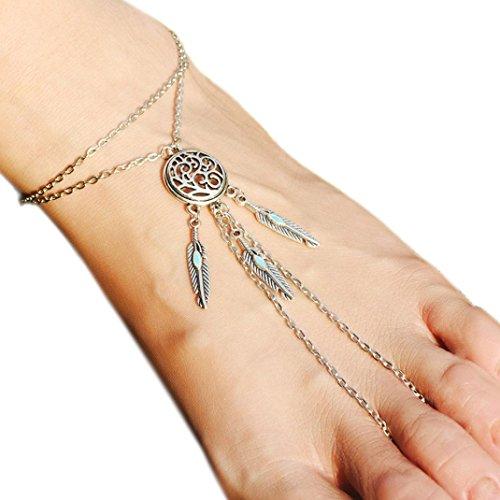 womens-anklet-chain-tassel-metfit-elegant-dream-catche-beach-barefoot-sandal-foot-jewelry-a-silver