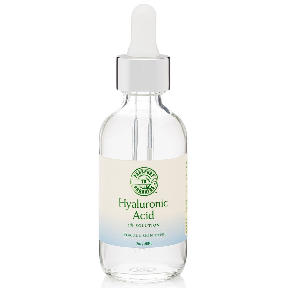 Hyaluronic Acid Serum - Organic & Vegan - 100% Pure of a 1% solution 2oz