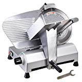 "Yescom 12"" Stainless Steel Blade Electric Meat Slicer Commercial Deli Food Cheese Veggies Cutter Restaurant"