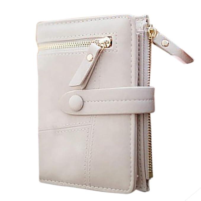 Amazon.com: Mini monederos para mujer, de piel sintética ...