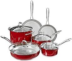 Kitchenaid Aluminum Nonstick 12 Piece Cookware Set