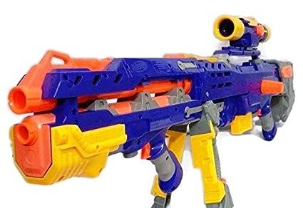 New open box nerf n-strike vulcan ebf-25 dart blaster gun (discontinued