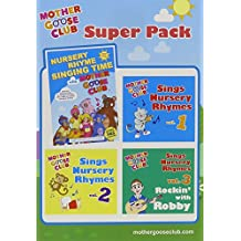 Mother Goose Club Super Pack - DVD & 3 Vol CD