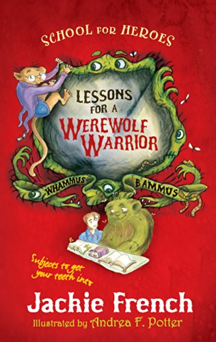 book cover of Lessons for a Werewolf Warrior