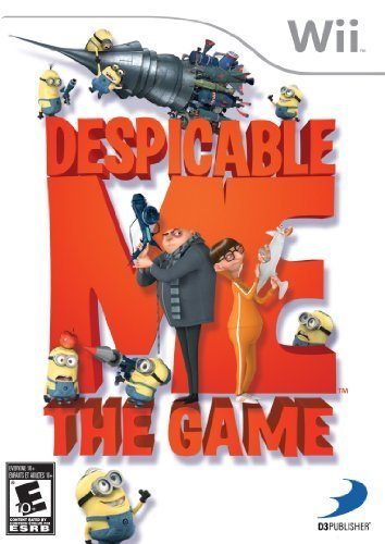 Despicable Me: The Game For Wii by D3 Publisher