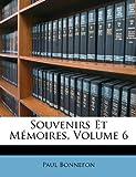 Souvenirs et Mémoires, Paul Bonnefon, 114617733X