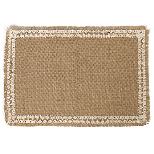 moment Placemats Country Wedding Decoration