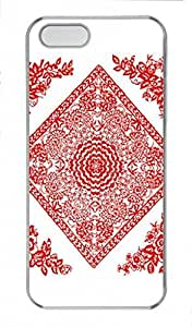 Chinese Papercuts PC Transparent For SamSung Galaxy S5 Mini Phone Case Cover - A mass of flowers