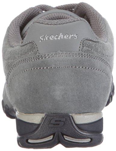 Skechers SpeedsterNottingham Zapatillas fashion de cuero, Mujer Gris (CHAR)