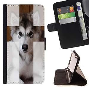 """Skull Market - FOR HTC Desire 820 - """"Hug me - Caja de la carpeta del tirš®n del cuero de la PU [con ranuras para tarjetas y cierre de solapa magnšŠtica] Pš¢rese cubierta de la caja"""