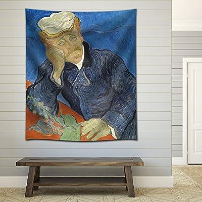 Elegant Expert Craftsmanship, Portrait of Dr Gachet by Vincent Van Gogh, Classic Artwork