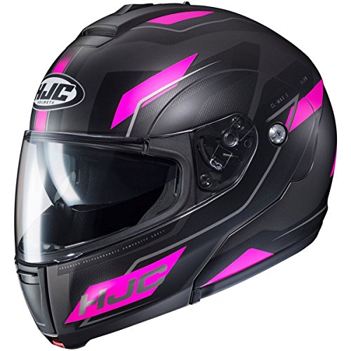 HJC Flow Women's CL-MAX 3 Modular Street Motorcycle Helmet - MC-8SF / ()