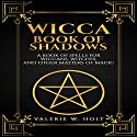Wicca: Book of Shadows: A Book of Spells for Wiccans, Witches, and Other Masters of Magic, Book 2 Audiobook by Valerie W. Holt Narrated by Chip McCullough
