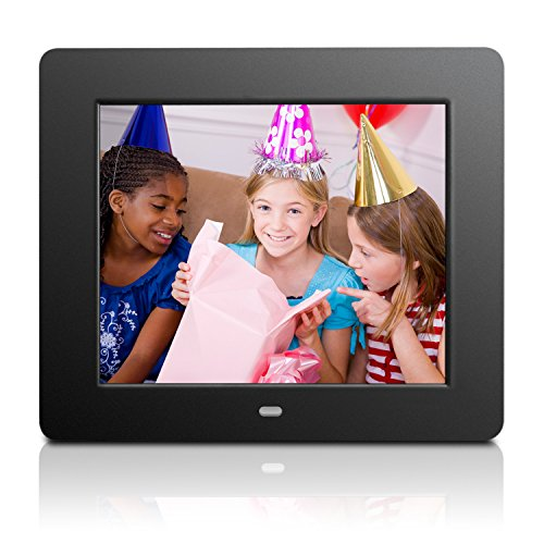 Aluratek Admpf108f 8 Hi Res Digital Photo Frame With 4gb Built In
