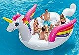 Intex Unicorn Party Island, Inflatable Island, 198' X 132' X 68'