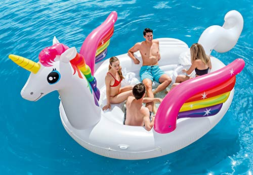 Intex Unicorn Party Island, Inflatable Island, 198