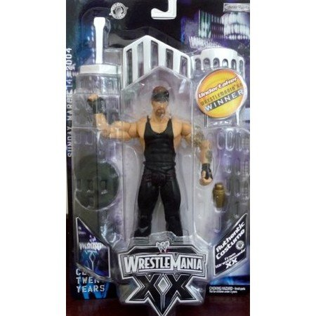 Wrestlemania XX 20 The Undertaker Authentic Costume Action (Undertaker Costume Adults)