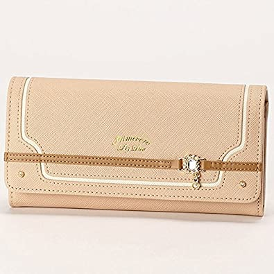13af6fcd3907 リズリサ(バッグ&ウォレット)(LIZ LISA Bag&Wallet) カカオ かぶせ長財布【