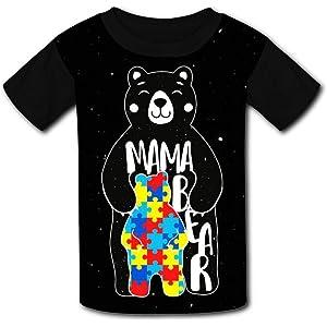 Judith Wordsworth Childrens T-Shirt Cora-line Unisex Kids 3D Printing Short Sleeve tee