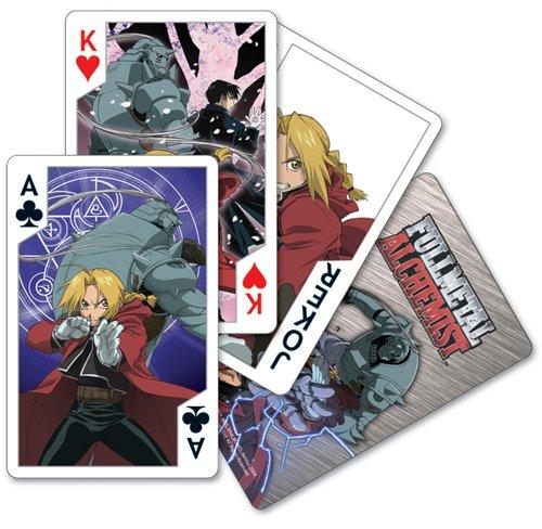 (Fullmetal Alchemist Playing Cards)