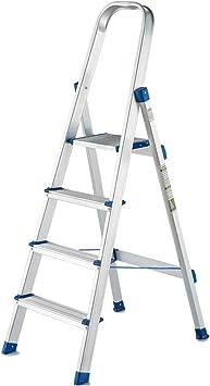 KJZ Escalera de metal, Escalera de cuatro peldaños en el corredor Escalera multifunción para exteriores Escalera plegable de almacén Tamaño 425 * 55 * 1520MM (Tamaño : 425 * 55 * 1520MM): Amazon.es: Bricolaje y herramientas