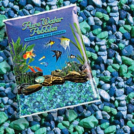 Pure Water Pebbles Nature's Ocean Aquarium Gravel Blue Lagoon Gravel 5-lb by Pure Water Pebbles