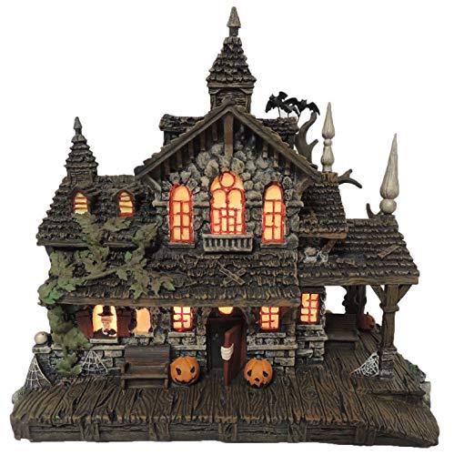 Hawthorne Village Halloween Train (Hawthorne Village Universal Studios Monsters Collection Transylvania Train Station Collectible Halloween House)