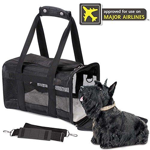 Sherpa Original Deluxe Pet Carrier, Large, Black