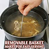 TV Cooking Pot Strainer Basket Always Stays