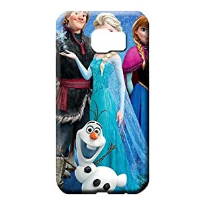 samsung galaxy s6 edge Protection Anti-scratch High Grade Cases phone carrying cover skin frozen movie