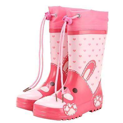 Amazon.com: HOOH - Botas de lluvia para niños, impermeables ...