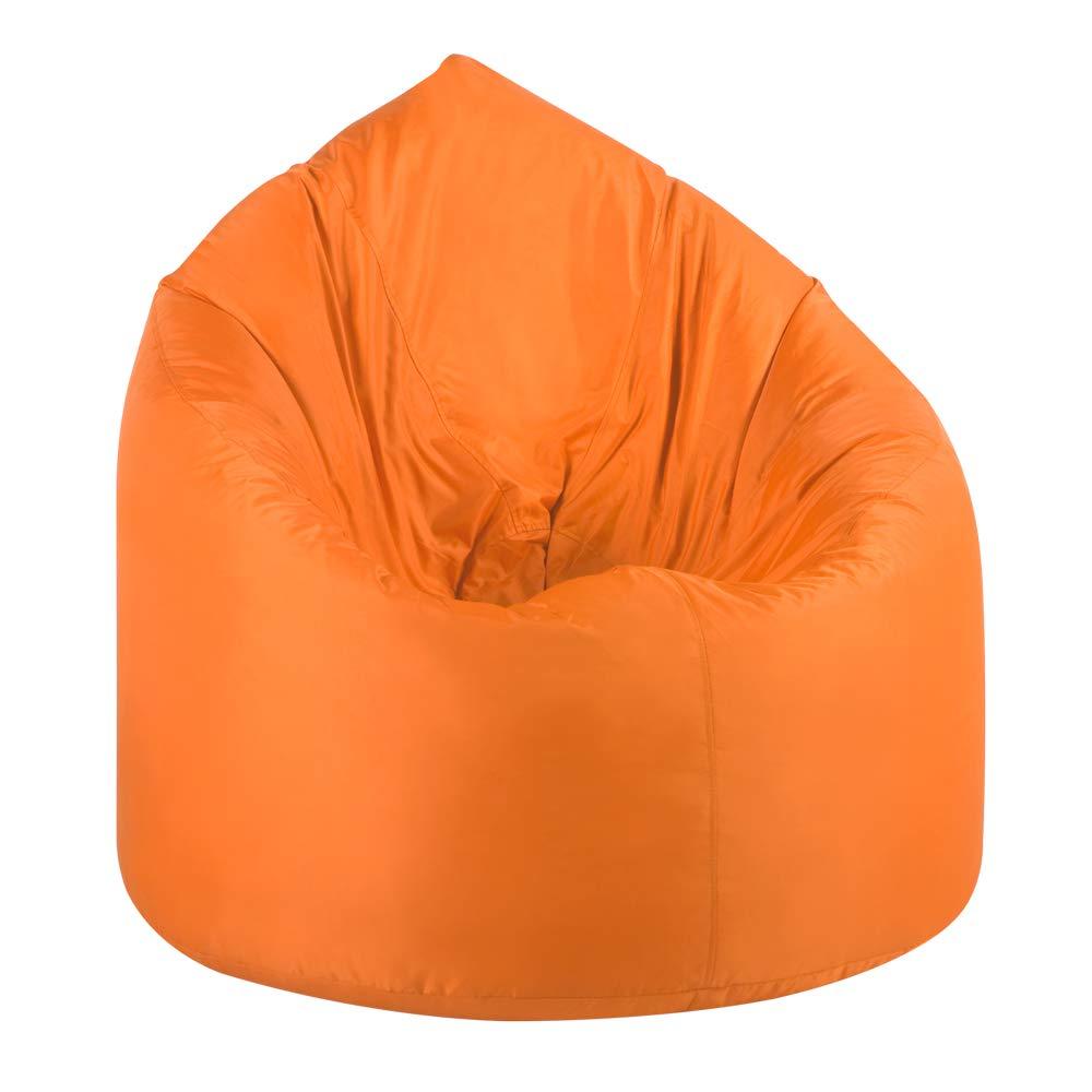 Remarkable Bean Bag Bazaar Giant Teardrop Bean Bag Chair 92Cm X 90Cm Indoor Outdoor Bean Bags Orange Ocoug Best Dining Table And Chair Ideas Images Ocougorg