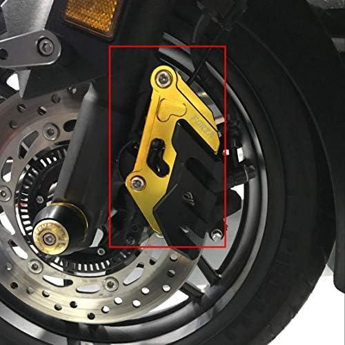 CNC en Aluminium /étrier De Frein Arri/ère Garde Protecteur De Couverture avec Logo Forza Accessoires De Moto pour Honda Forza300 125 250 2018-2020