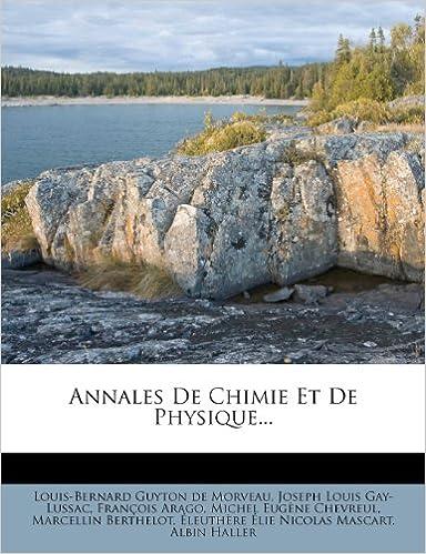 Annales de Chimie Et de Physique... epub pdf