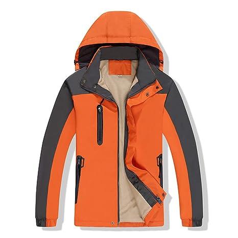 Zhangcaiyun Chaqueta Impermeable para Hombre Mountain Chaqueta Impermeable de esquí para Hombre Mountain Chaqueta Impermeable para