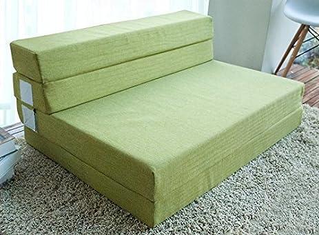 merax 4 inch memory foam folding mattress and sofa guest sofa z bed sleeping mattress 74u0026quot